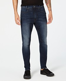 G-Star RAW Men's D-Staq 3D Slim-Fit Stretch Jeans