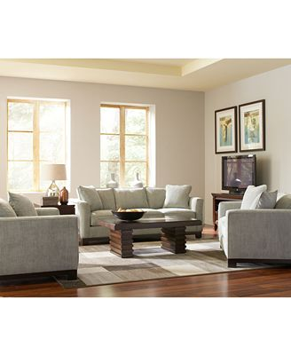 Kenton Fabric Sofa Sage