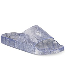 I.N.C. Glitter Jelly Pool Slides, Created for Macy's