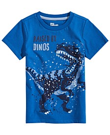 Epic Threads Big Boys Raised by Dinos Graphic T-Shirt, Created for Macy's