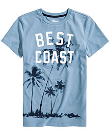 Epic Threads Big Boys Best Coast Graphic T-Shirt, Created for Macy's