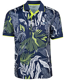 Attack Life by Greg Norman Men's Melwood Abstract Floral-Print Shirt