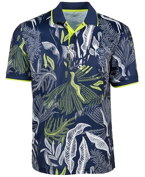 Greg Norman Men's Melwood Abstract Floral-Print Shirt