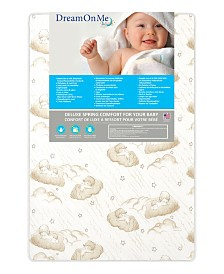 "Dream On Me, 3"" Spring Coil Portable Crib Mattress"