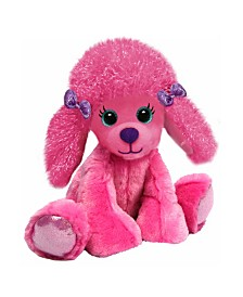 First and Main - 7 Inch Gal Pals Plush, Polly Poodle