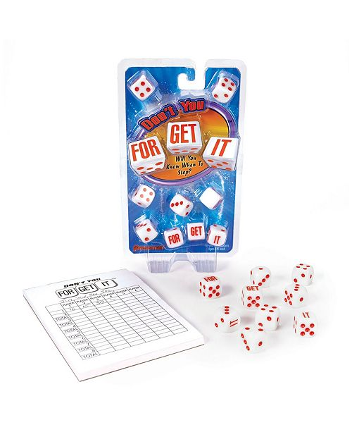Pressman Toy - Don'T You Forget It Game
