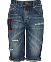 4e68cd487 Tommy Hilfiger Big Boys Keagan Cotton Denim Shorts