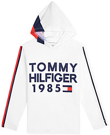 Tommy Hilfiger Big Boys 1985 Graphic Cotton Hoodie