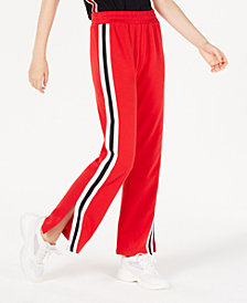 Planet Gold Juniors' Side-Slit Track Sweatpants