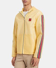 Calvin Klein Men's Transparent Hooded Jacket
