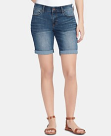WILLIAM RAST Denim Bermuda Shorts