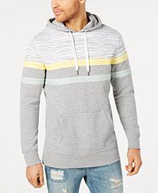 American Rag Men's Regular-Fit Colorblocked Stripe Hoodie, Created for Macy's