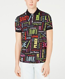 Love Moschino Men's Logo-Print Polo