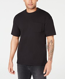 A|X Armani Exchange Men's Embroidered Zipper T-Shirt