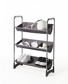 Neatfreak Stackable 3-Tier Fabric Bin Utility Shelf