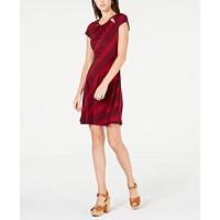 Deals on Michael Michael Kors Printed Cutout Dress