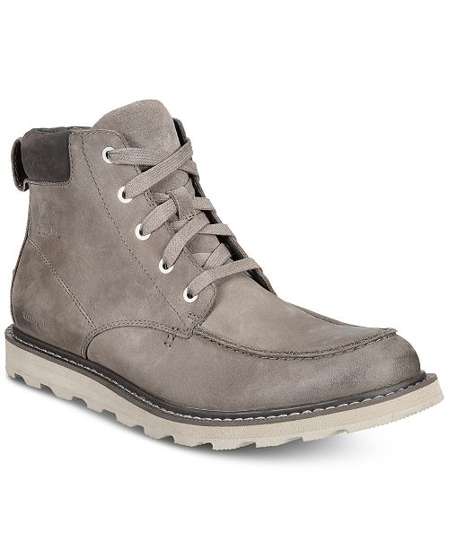 Sorel Men's Madson Waterproof Moc-Toe Boots