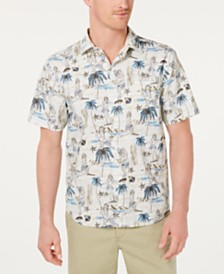 Tommy Bahama Men's Woven Hawaiian Shirt