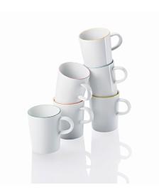 Rosenthal Cucina-Basic Colori Set/6 Mug