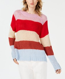 J.O.A. Striped Sweater