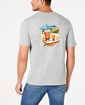 ae4e1c6191 Tommy Bahama Men s Pitcher Catcher Graphic T-Shirt