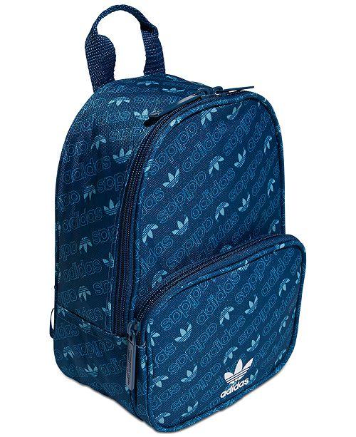 ca11ca822 adidas Santiago Logo-Print Mini Backpack & Reviews - Women's Brands ...