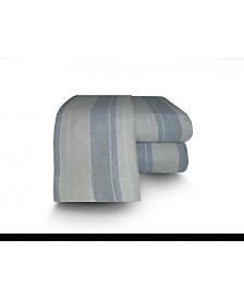 Flannel Stripe Sheet Set Full