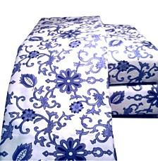 Paisley Flannel Sheet Set Full