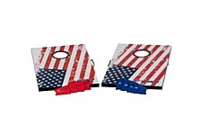 Triumph Patriotic Bean Bag Toss Set Includes 2 Boards and 8 All-Weather Bean Bags
