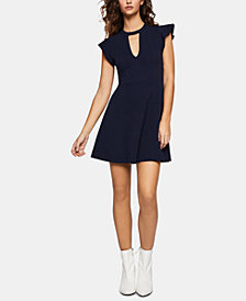 BCBGeneration Cutout Fit & Flare Dress