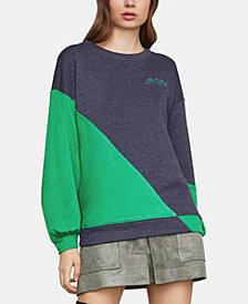 BCBGMAXAZRIA Colorblocked Sweatshirt
