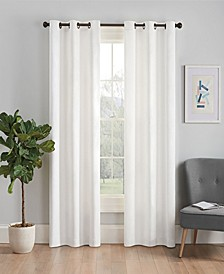 "Microfiber Thermaback Blackout 42"" x 63"" Curtain Panel"