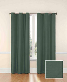 """Eclipse Microfiber Thermaback Blackout 42"""" x 95"""" Curtain Panel"""