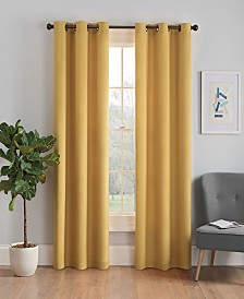 "Eclipse Microfiber Thermaback Blackout 42"" x 95"" Curtain Panel"
