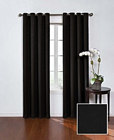 """Round and Round Thermaweave Blackout 52"""" x 63"""" Curtain Panel"""
