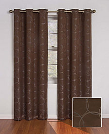 """Eclipse Meridian Thermaback Blackout 42"""" x 108"""" Curtain Panel"""