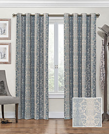 "Eclipse Nadya Print Thermalayer Blackout 52"" x 63"" Curtain Panel"