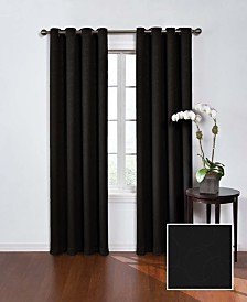 "Eclipse Round and Round Thermaweave OP Blackout 52"" x 84"" Curtain Panel"