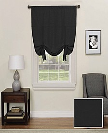 """Kendall 42"""" x 63"""" Blackout Tie-Up Window Shade"""