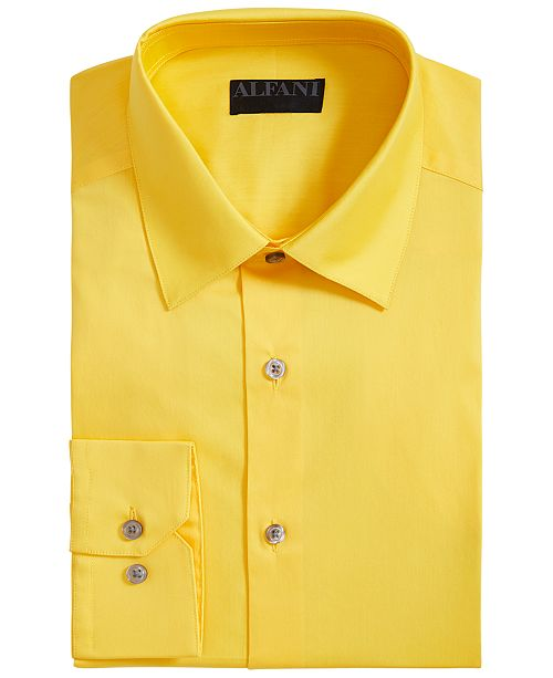 Alfani Slim-Fit Stretch Performance Dress Shirt, Created For Macy's