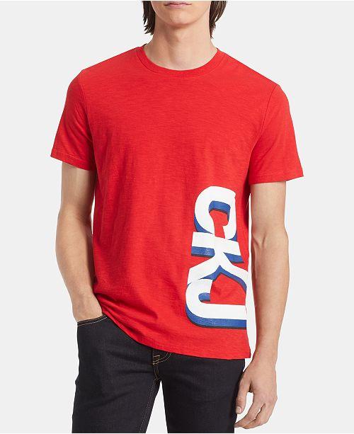 Calvin Klein Jeans Men's Triple Gradient Logo T-Shirt