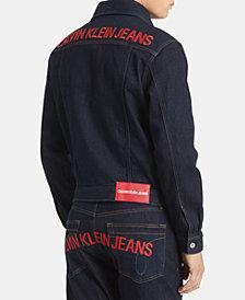Calvin Klein Jeans Men's Foundation Trucker Jacket