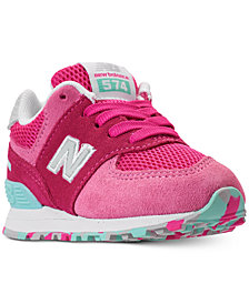 New Balance Toddler Girls' 574 Casual Sneakers from Finish Line