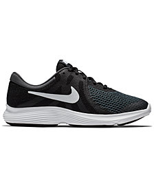 Nike Boys' Revolution 4 Wide Width Running Sneakers from Finish Line