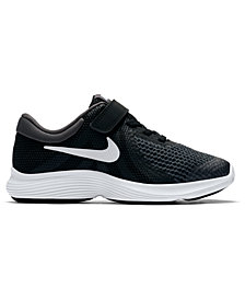 Nike Little Boys' Revolution 4 Wide Width Running Sneakers from Finish Line