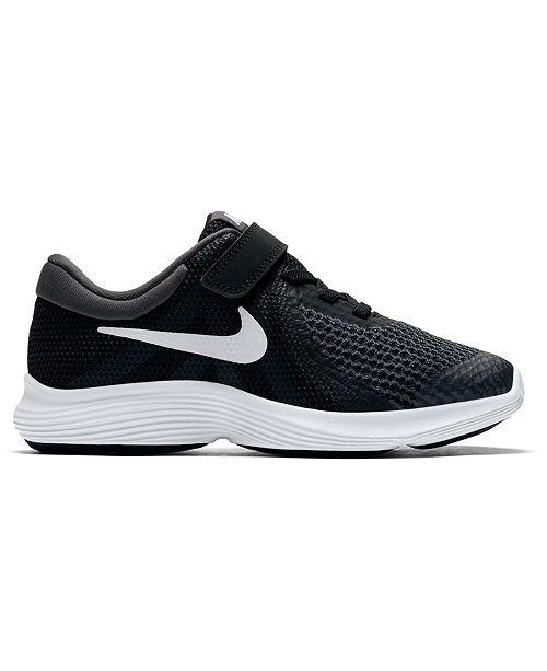 Nike Little Boys' Revolution 4 Wide Width Running Sneakers from Finish Line
