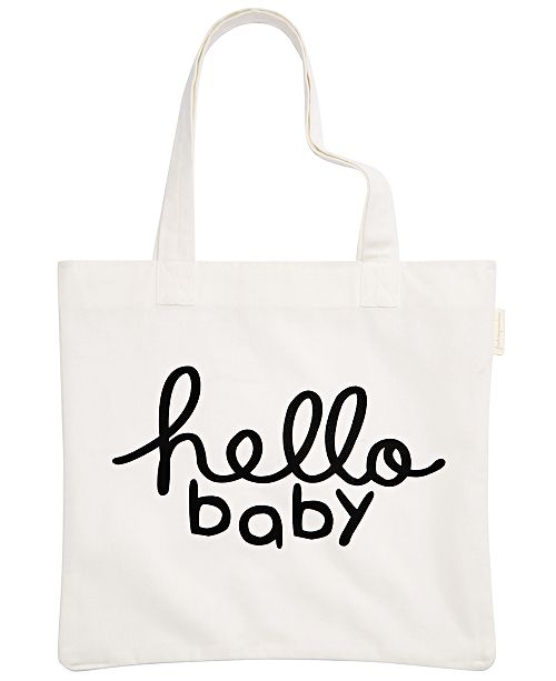 First Impressions Baby Boys & Girls Hello Baby Cotton Tote, Created for Macy's