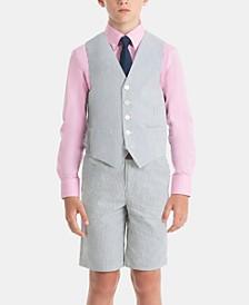 Boys & Little Boys Pure Cotton Vest & Shorts Separates