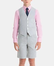 Lauren Ralph Lauren Boys & Little Boys Pure Cotton Vest & Shorts Separates