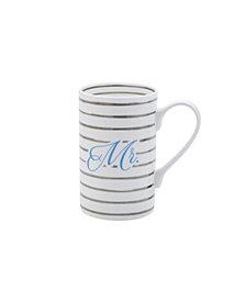 Mikasa Mr Platinum Stripes Mug